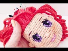 Borda ojos muñeca Samantha amigurumis by Petus Crochet Eyes, Diy Crochet, Crochet Dolls Free Patterns, Amigurumi Tutorial, Crochet Videos, Amigurumi Doll, Fabric Dolls, Crochet Projects, Doll Clothes
