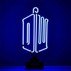 Amazon.com: Doctor Who Logo Large Blue Neon Light: Home Improvement