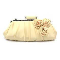 Gorgeous Polyester with Flowers Evening Handbag/Clutches(More Colors) – USD $ 19.99