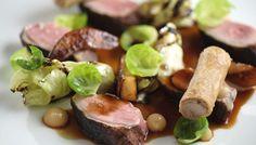 2_0020_L'Abattoir Food - Lightly smoked duch breast, crisp confit leg meat…