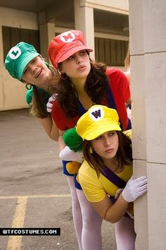 Mario brother trio