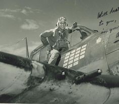 Alex Vraciu, circa June 1944, who shot down 19 Japanese aircraft in an 8-month period beginning in October 1943. Mr. Vraciu died on January 29, 2015 at the age of 96.