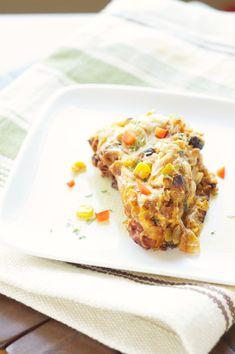 Crockpot Spicy Taco Casserole