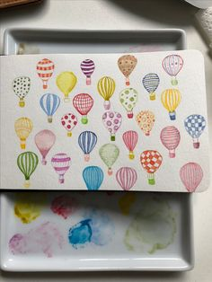 Hot air balloons by Fiona Houghton