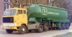 Volvo F 89 6x2 met bulktankoplegger vsn de Nederlandse Cement