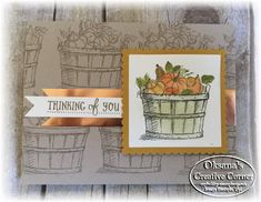 Oksana's Creative Corner: Team Stamp It Fall blog Hop