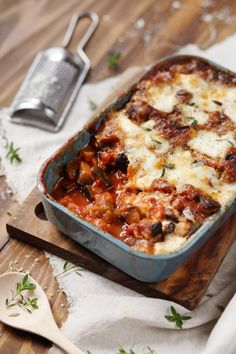Detox Recipes, Summer Recipes, Healthy Recipes, Aubergine Parmesan, Aubergine Mozzarella, My Favorite Food, Favorite Recipes, Main Dishes, Food And Drink