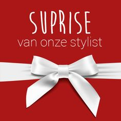 Met deze pin ontvang je een verrassing van onze stylist cadeau!