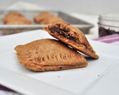 Healthy Pop Tarts 2 cups white whole wheat flour 1/3 cup coconut sugar 1/2 cup applesauce unsweetened 1/4 cup coconut oil 1 egg (I used a flax egg replacement) 1 tsp ground vanilla bean or extract 1 tsp cinnamon 1/2 tsp baking powder 1/4 to 1/2 cup milk Favorite Fruit for the Filling