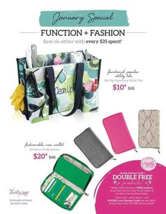 January 2014 special! 31 has merged with Jewell... All about the Benjamins wallet is going for $20 this month!