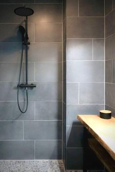 Modern Bathroom Tile, Bathroom Tile Designs, Modern Bathroom Design, Bathroom Interior Design, Small Bathroom, Master Bathroom, Neutral Bathroom Tile, Washroom, Kitchen Interior