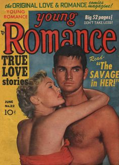 Cover for Young Romance (Prize, 1947 series) #v3#10 (22)
