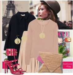 """""""Paris Mornings - Boticca"""" by bklana ❤ liked on Polyvore"""