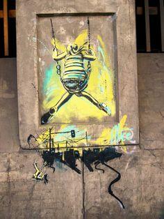 Grafitti by Alice Pasquini, Rome.