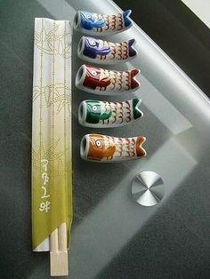 Japanese chopstick rests