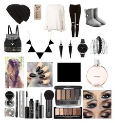 """Fashion Day!!!!!!!!!!!!"" by daisydaisy123 ❤ liked on Polyvore featuring URBAN ZEN, UGG Australia, Casetify, Oasis, Olivia Burton, Phase 3, Avenue, Bobbi Brown Cosmetics, NARS Cosmetics and MAC Cosmetics"