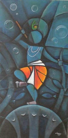 Gallery of Chennai based indian contemporary artist Cheenu Pillai