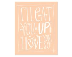 """""""I'll eat you up I love you so""""  Lindsay-Letters-Canvas-wild-thing-peach_1024x1024"""