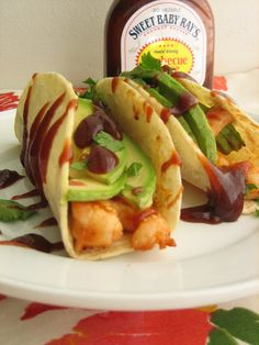 Baking, domesticity, and all things mini: BBQ shrimp tacos