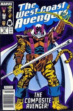 West Coast Avengers #30 - None So Blind!