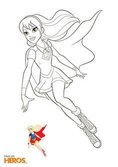 Super Girl dans la série animée DC Super Hero Girls