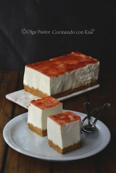 Cocinando con Kisa: Tarta mousse de queso (KitchenAid)