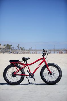 For the brave biker who seeks high adventure on mountain trails, this solid bike lives up to its adventurous name. With a rugged 48-volt, 600-watt silent motor, the Trail Tracker is made to leave others in the dust while conquering new paths, both on and off the road. Its 4-inch wide tires have aggressive knobby tread to hug the turf and carry the rider over rough terrain with confidence.