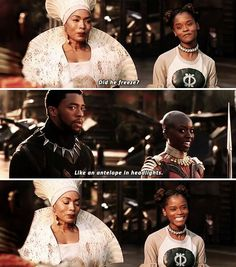 Most memorable quotes from Black Panther, a movie based on film. Find important Black Panther quotes from film. Black Phanter quotes from Marvel and funny quotes. Marvel Funny, Marvel Memes, Marvel Dc Comics, Marvel Avengers, Avengers Memes, Shuri Black Panther, Black Panther Marvel, Black Panther Quotes, Savages Movie