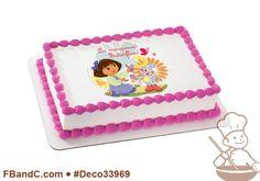 Deco33969 | DORA EXPLORER BUTTERFLIES PC IMAGE | Nickelodeon, Boots.