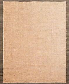 love this hemp basketweave rug
