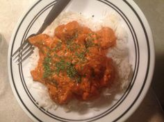 Chicken Tikka Masala Recipe, originally in 2002 Chicago Tribune.  Reviews have good suggestions to adjust the heat, and an all-stovetop method. - Food.com - 25587