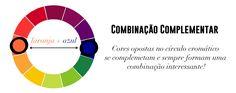 Estilo Meu - Consultoria de Imagem Combinação de cores: laranja e azul