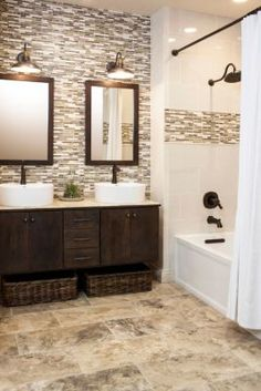 Get the look of the wood framed mirrors with a MirrorMate frame in the Cherokee style at www.mirrormate.com