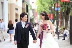 表参道ウェデイング/カラーブーケ/花どうらく/ブーケ/http://www.hanadouraku.com/bouquet/wedding/
