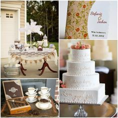 Hochzeitstorten mit Lieblingszitat oder Vers und Blumen Einladungskarte 20er Jahre Vintage Hochzeit Inspiration für die 20er Jahre Vintage Hochzeit