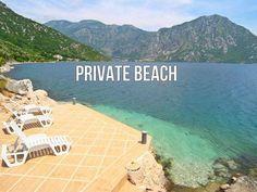 in Kotor: 3 Schlafzimmer, für bis zu 8 Personen. Waterfront Villa mit herrlichem Meerblick und direkter Zugang Jetty | FeWo-direkt