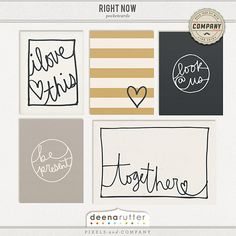 Right Now Journal Cards                                                                                                                                                                                 More