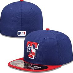 Texas Rangers New Era MLB Diamond Tech 5950 Fitted Hat (Blue) Twenty One  Pilots f90d76123ba8