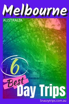 6 Best Day Trips From Melbourne - SNAZZY TRIPS travel blog - Want to take a short drive and get out of Melbourne for a change of scenery? Let me give you some suggestions from a long-time resident here. These are 6 of the best day trips from Melbourne, which are perfect for a pleasant drive, with plenty of activities on offer, or relaxation, whichever you prefer. #melbournedaytrips #melbourneblog #melbournetravel #victoriablog #snazzytrips
