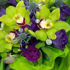 Green Orchids - Brides Bouquet