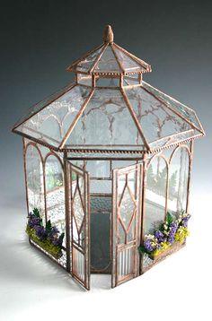 Sunflower Glass Studio | Minature Buildings