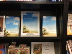 My new novel THE ART OF FLOATING spotted in the Mystery Lovers Bookstore in Oakmont, PA! (If you spot it in a bookstore near you, send me a photo! I'll post!)