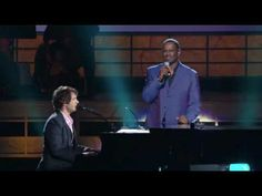 This song makes me cry every time. So beautiful! Bridge Over Troubled Water - Josh Groban & Brian McKnight
