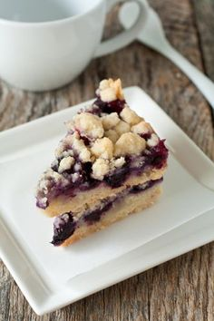 Lemon Blueberry Crumb Bars. The lemon-blueberry flavor is great for summer and the texture of the topping is absolute perfection.