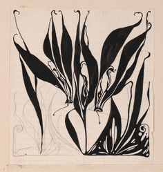 "design-is-fine: "" Koloman Moser, drawing of a fabric, Design for Backhausen, Vienna. MAK Wien via Europeana "" Art Nouveau, Koloman Moser, Walter Crane, Pattern Photography, Josef Albers, Collage, Maker, Art Inspo, Graphic Art"