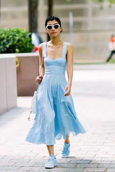 All Jeans, Summer Dresses, Hot, Fashion, Outfits, Style, Moda, Sundresses, La Mode
