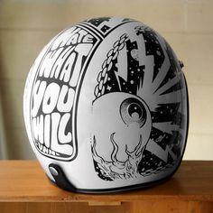Helmet Paint Designs by The VNM