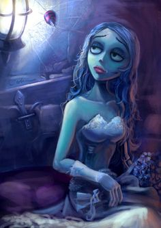 Photo of Emily Alive for fans of Corpse Bride 32193830 Corpse Bride Movie, Corpse Bride Art, Emily Corpse Bride, Tim Burton Corpse Bride, Estilo Tim Burton, Tim Burton Art, Desenhos Tim Burton, Ariana Grande Anime, Nightmare Before Christmas Drawings