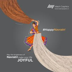 May the brightness of Navratri make your life joyful Happy Navaratri. Ads Creative, Creative Posters, Living Room Decor Video, Moonlight Photography, Good Advertisements, Happy Navratri, Festival Celebration, Poster Ads