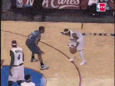 Check out all the awesome allen iverson gifs on WiffleGif. Including all the nba gifs, philadelphia gifs, and michael jordan gifs. Basketball Moves, Basketball Videos, Basketball Legends, Sports Basketball, College Basketball, Basketball Players, Allen Iverson Crossover, Sport Icon, Sports Memes